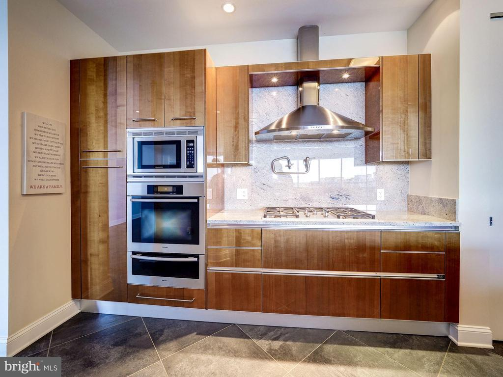 Pristine Kitchen with High End Cabinetry - 1881 N NASH ST #1902, ARLINGTON