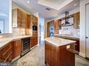 Kitchen w/Built-In Espresso Machine & Wine Cooler - 1881 N NASH ST #1902, ARLINGTON