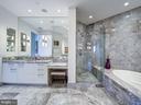 Marble Master Bath - 1881 N NASH ST #1902, ARLINGTON