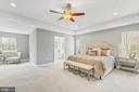 Master bedroom with sitting area - 10407 DEL RAY CT, UPPER MARLBORO