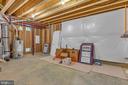Utility / storage room in basement. - 10407 DEL RAY CT, UPPER MARLBORO