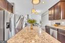 Standard granite counters & 42