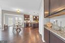 Optional butlers pantry and hardwood flrs - 10407 DEL RAY CT, UPPER MARLBORO