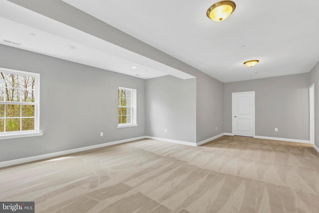 Basement w/ optional extended area under morning r - 10407 DEL RAY CT, UPPER MARLBORO
