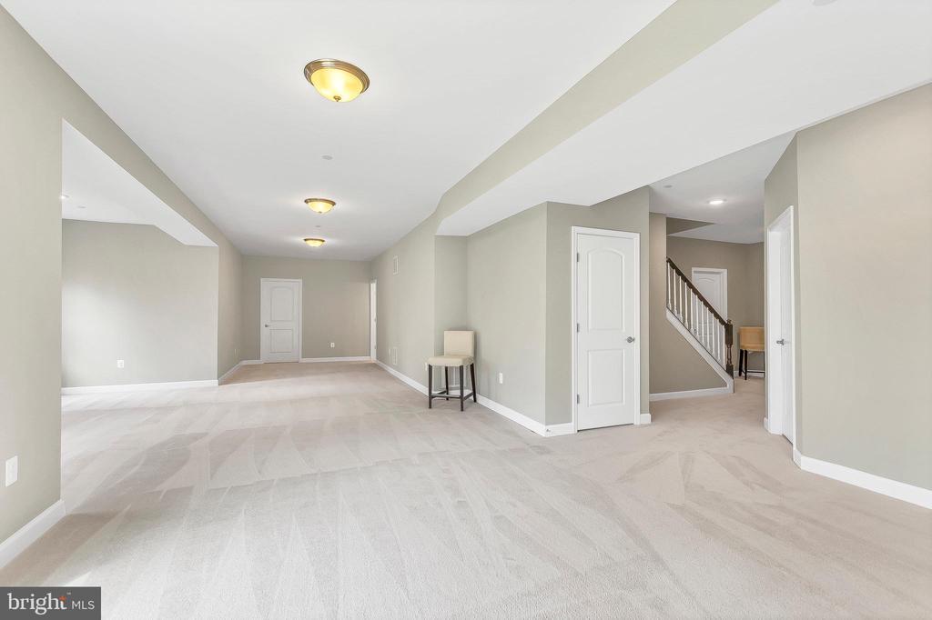 Spacious finished basement - 10407 DEL RAY CT, UPPER MARLBORO