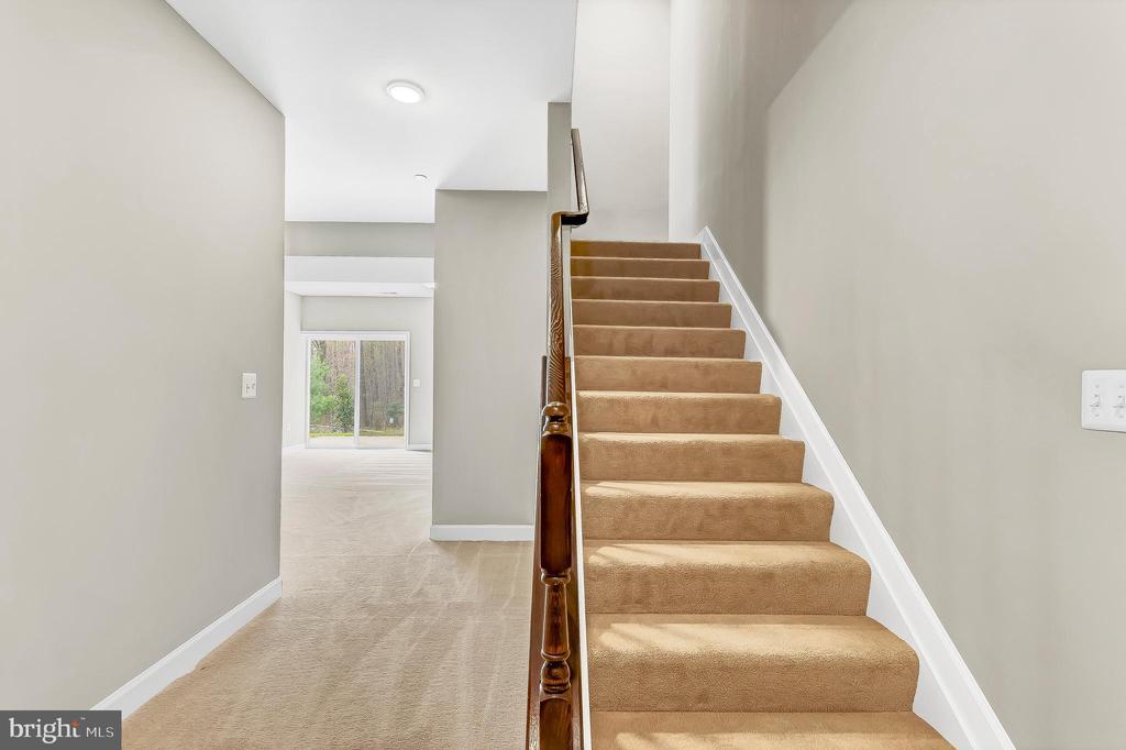 Full finished basement. - 10407 DEL RAY CT, UPPER MARLBORO