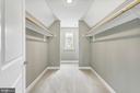 Spacious walk-in closet off master bedroom - 10407 DEL RAY CT, UPPER MARLBORO
