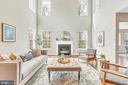 Two-story great room - 10407 DEL RAY CT, UPPER MARLBORO