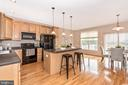 KITCHEN ISLAND VIEW 3 - 305 GREEN FERN CIR, BOONSBORO