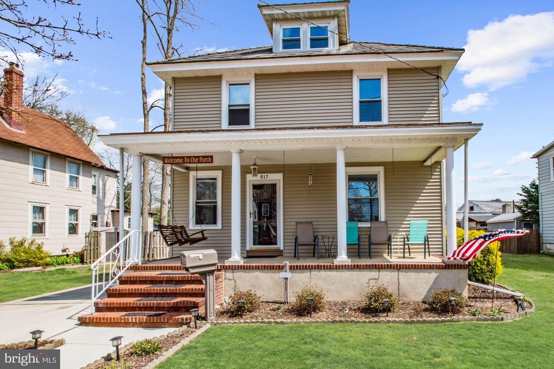 Частный односемейный дом для того Продажа на 517 CINNAMINSON STREET Riverton, Нью-Джерси 08077 Соединенные Штаты