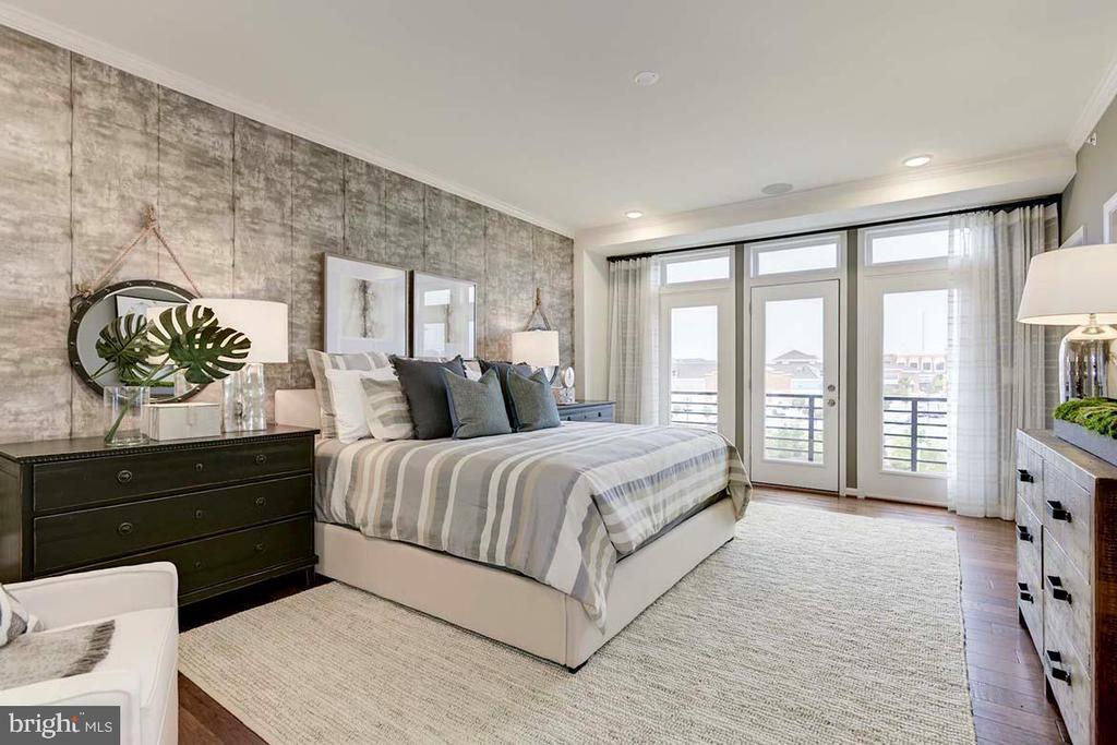 Master Bedroom - 1110 RIBBON LIMESTONE TER SE, LEESBURG
