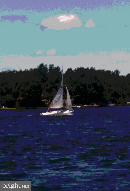 Sailboat on the lake - 424 YORKTOWN, LOCUST GROVE