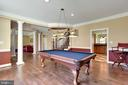 Dining Room-Current Use for Pool Table Enjoyment! - 15579 WOODGROVE RD, PURCELLVILLE