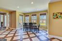 Light-Filled Breakfast Nook off Kitchen for Dining - 15579 WOODGROVE RD, PURCELLVILLE