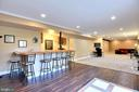 Walk-Up Lower Level Entertainment/Rec Room-So Nice - 15579 WOODGROVE RD, PURCELLVILLE