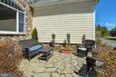 Front Stone Patio off Paved Circular Driveway - 15579 WOODGROVE RD, PURCELLVILLE