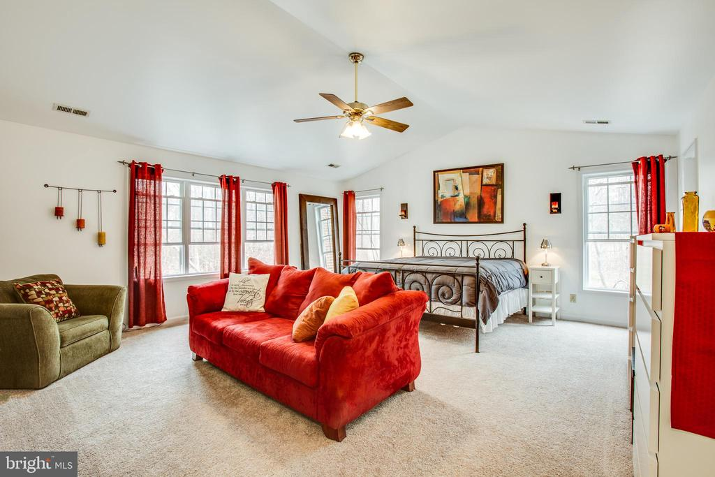 Spacious master bedroom - 78 TIMBERIDGE DR, FREDERICKSBURG