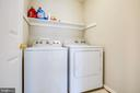 Upper level laundry room - 78 TIMBERIDGE DR, FREDERICKSBURG