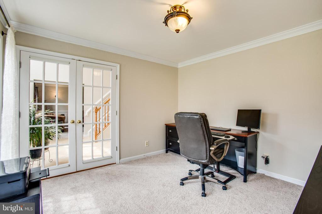 office with french doors - 78 TIMBERIDGE DR, FREDERICKSBURG