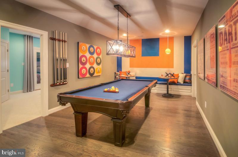 game room - 428 SALK CIR, GAITHERSBURG