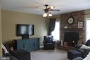 Inviting Family Room - 30 CARDINAL DR, FREDERICKSBURG