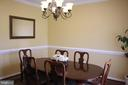 Formal Dining Room - 30 CARDINAL DR, FREDERICKSBURG