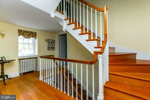 2ND FLOOR HALL WITH STAIRS TO 3RD FLR - 1009 WINDING WAY, BALTIMORE