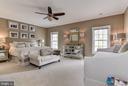 Upper Level Master Bedroom - 106 FALCON RIDGE RD, GREAT FALLS