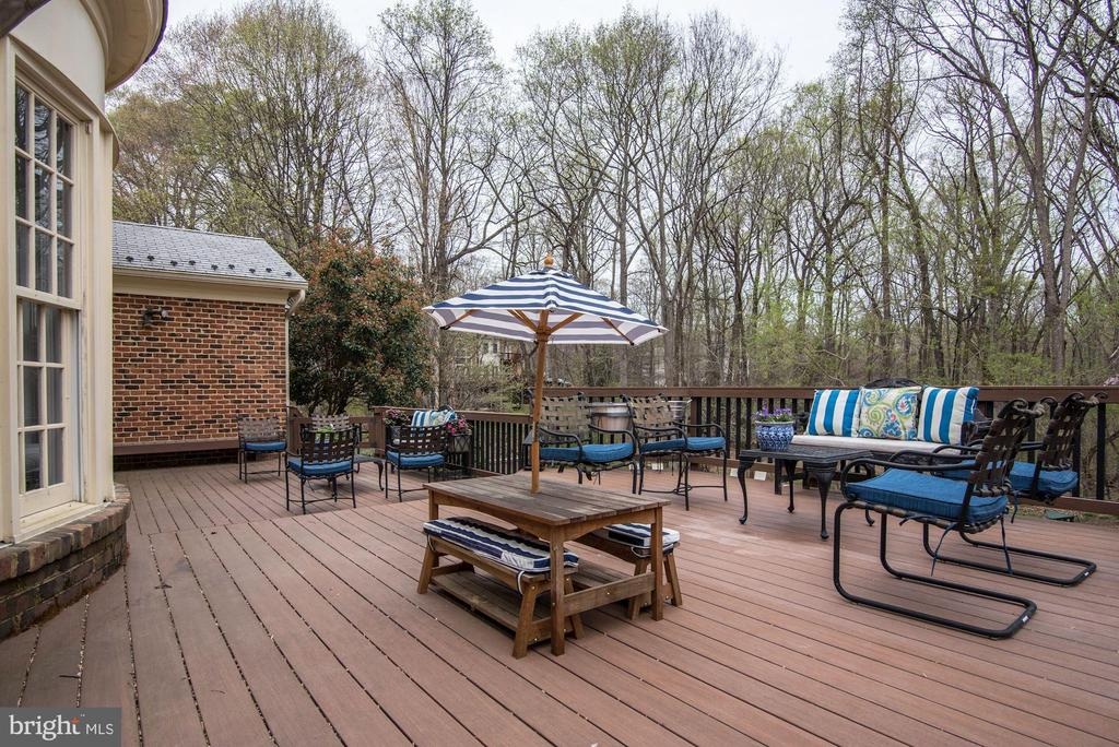 Embrace the Outdoors on this Deck - 106 FALCON RIDGE RD, GREAT FALLS