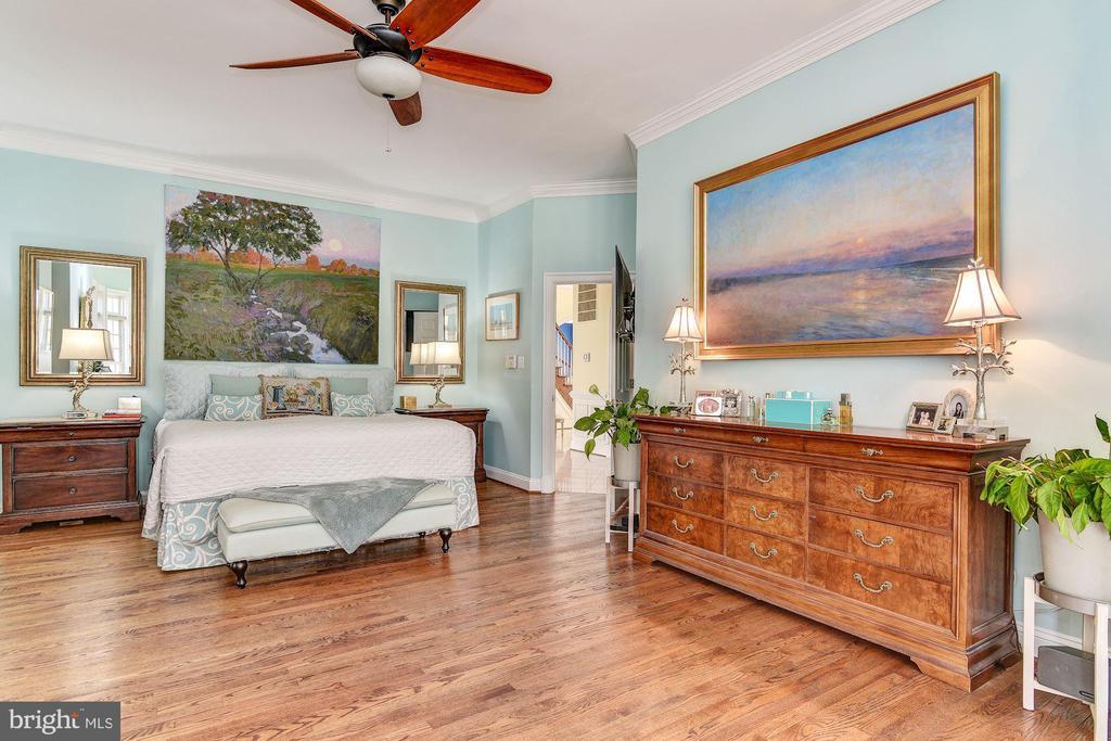 First Floor Master Bedroom - 106 FALCON RIDGE RD, GREAT FALLS