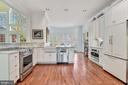 Light Filled Kitchen - 106 FALCON RIDGE RD, GREAT FALLS
