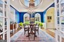 Formal Dining Room - 106 FALCON RIDGE RD, GREAT FALLS