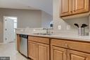 Another view of kitchen - 21216 MCFADDEN SQ #205, STERLING