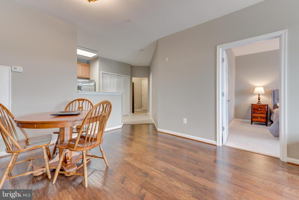 Looking from the family room towards the entrance - 21216 MCFADDEN SQ #205, STERLING