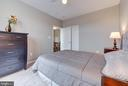 Another view of the master bedroom - 21216 MCFADDEN SQ #205, STERLING