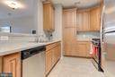 Spacious kitchen - 21216 MCFADDEN SQ #205, STERLING