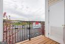 View from deck - 21216 MCFADDEN SQ #205, STERLING