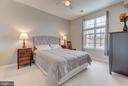 Master bedroom is very spacious - 21216 MCFADDEN SQ #205, STERLING