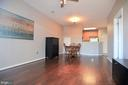 Just to show actual color of NEW wood floors - 21216 MCFADDEN SQ #205, STERLING
