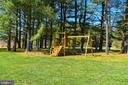 Back Yard Offers Playground Set For Outdoor Fun! - 15579 WOODGROVE RD, PURCELLVILLE