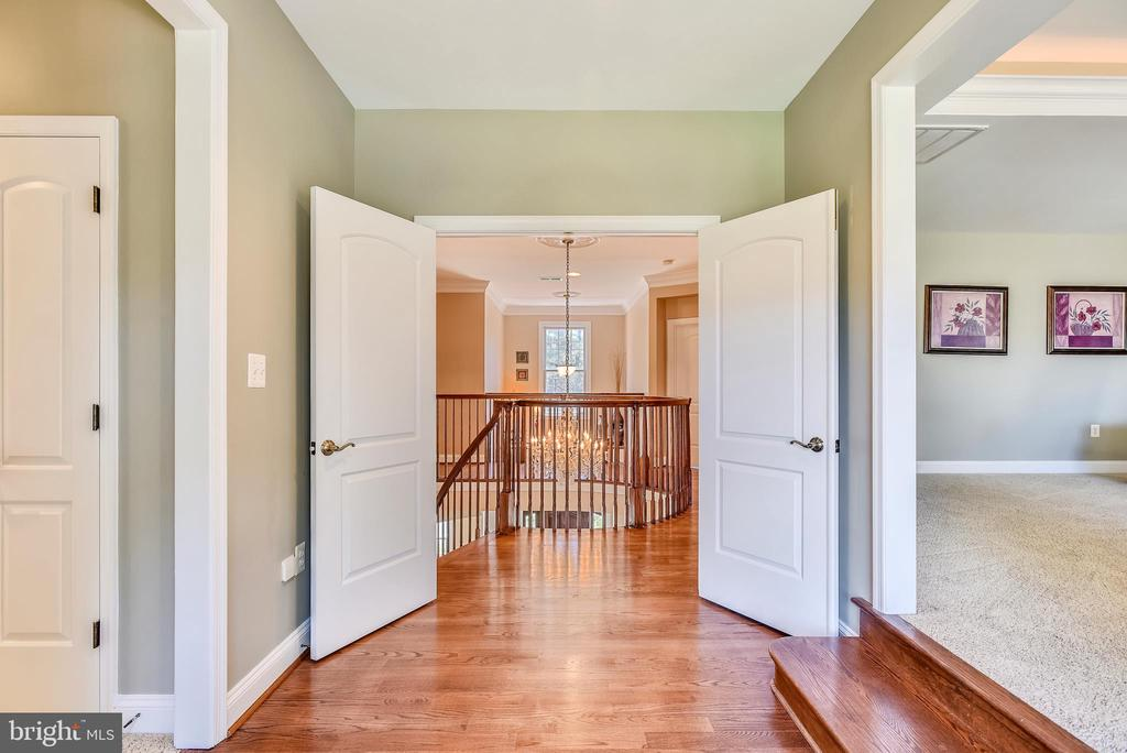 Double Door Entry to Spacious Master Bedroom Suite - 15579 WOODGROVE RD, PURCELLVILLE