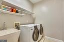 Convenient Upper Bedroom Level Laundry Room - 15579 WOODGROVE RD, PURCELLVILLE
