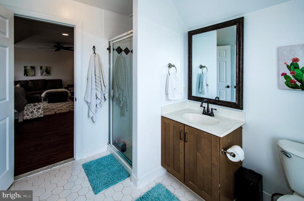 Bedroom 4- Bath Ideal for Guests or Teens- - 14974 MERRITT FARM LN, LEESBURG