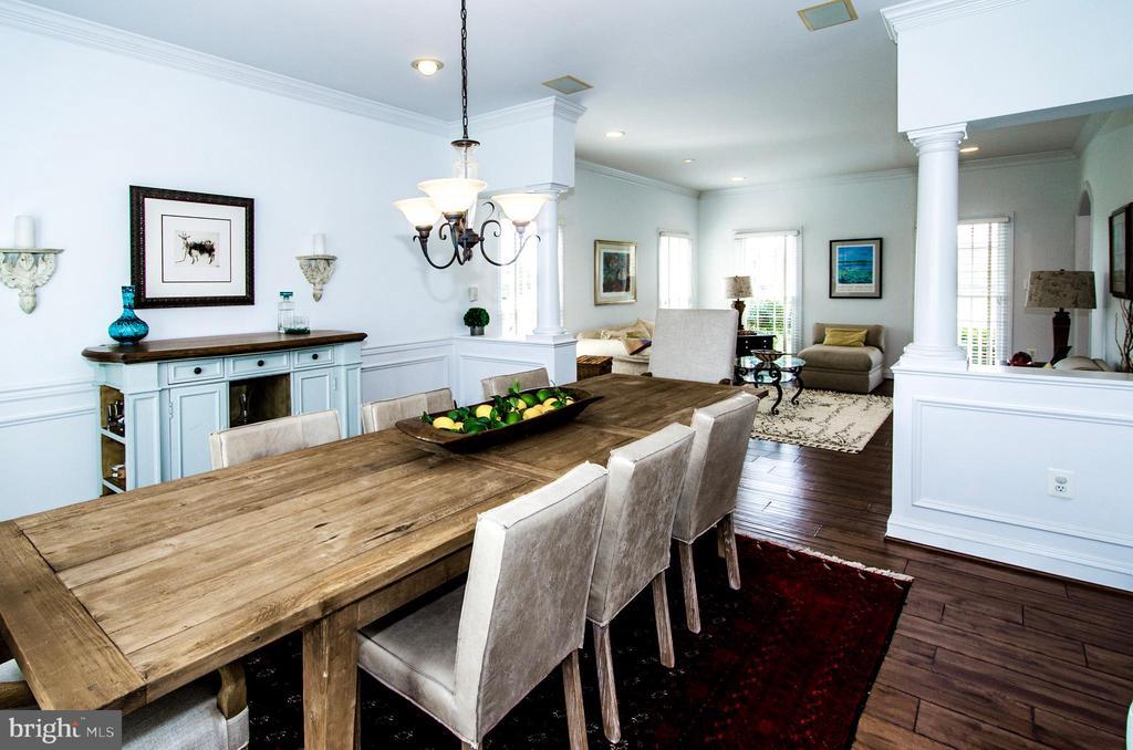 Opens to Living Room for Ideal Entertaining- - 14974 MERRITT FARM LN, LEESBURG