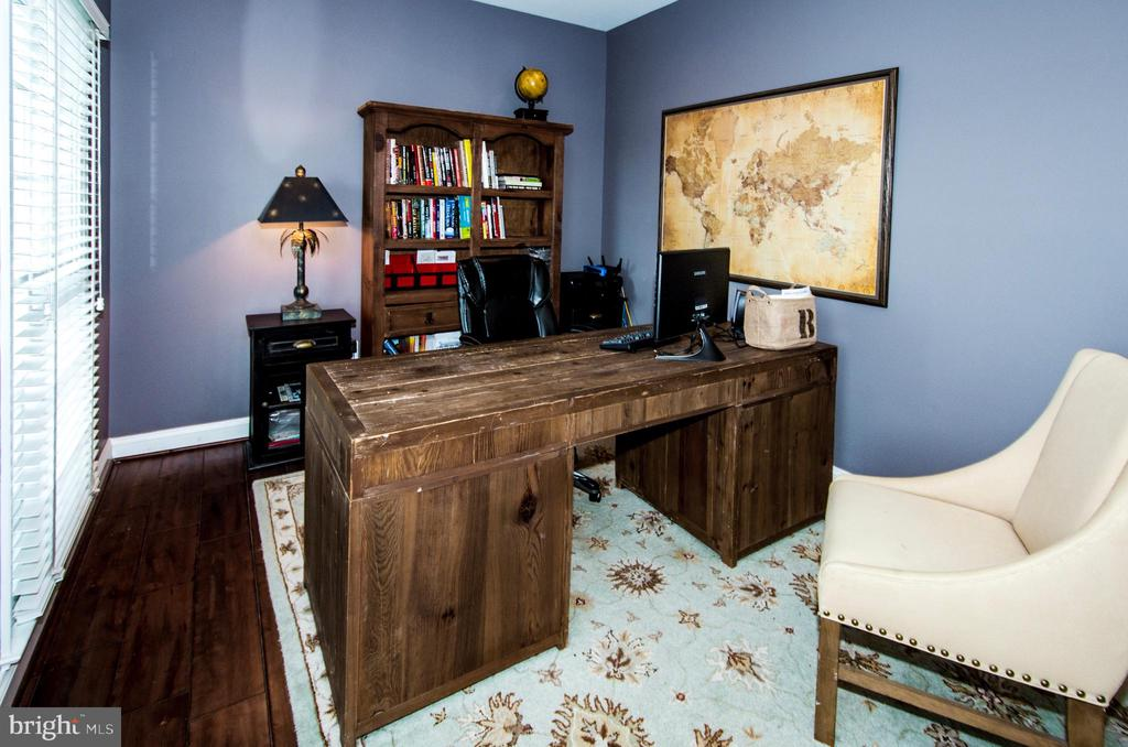 Working From Home is easy in Large Study- - 14974 MERRITT FARM LN, LEESBURG