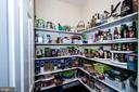 A real Walk- in Pantry- - 14974 MERRITT FARM LN, LEESBURG