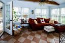 Sun Room opens to Screened- in Porch- - 14974 MERRITT FARM LN, LEESBURG