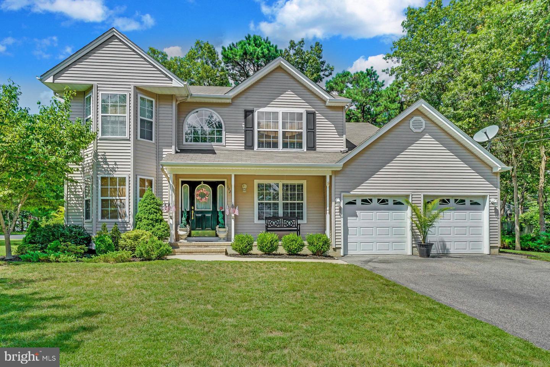 Maison unifamiliale pour l Vente à 192 BOWSPRIT Road Manahawkin, New Jersey 08050 États-Unis
