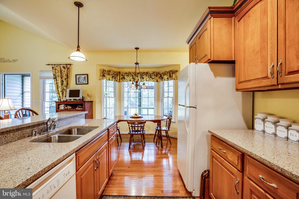 Eat in kitchen - 7803 TRANQUILITY CT, SPOTSYLVANIA