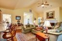 Soaring ceilings for big open space - 7803 TRANQUILITY CT, SPOTSYLVANIA